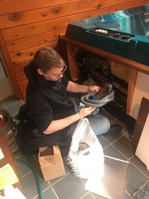 hot tub repair kenosha, kenosha spa repair, jacuzzi repair kenosha