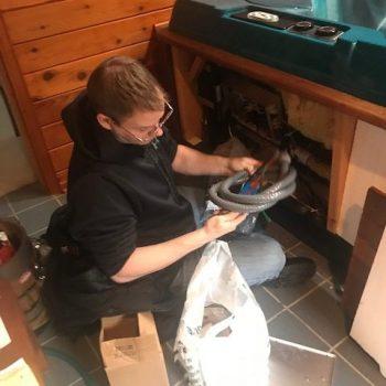 rjs hot tub service, hot tub repair waukesha, hot tub repair near me