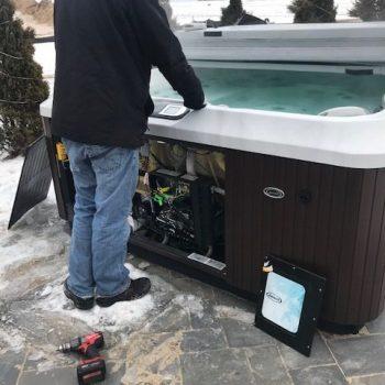 hot tub repair in racine, racine hot tub repair, rjs hot tub service